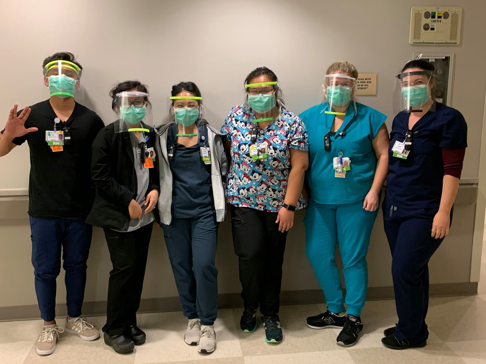 St. Joseph Emergency Department staff